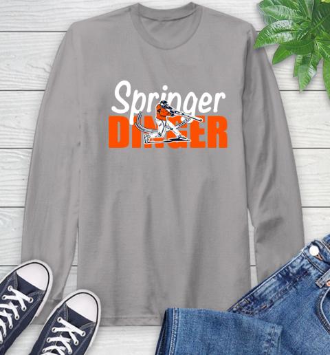 Houston Springer Dinger Fan Shirt Long Sleeve T-Shirt 6