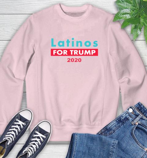 Latinos Trump 2020 Sweatshirt 9