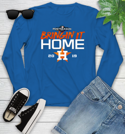 Bringing It Home Astros Youth Long Sleeve 10