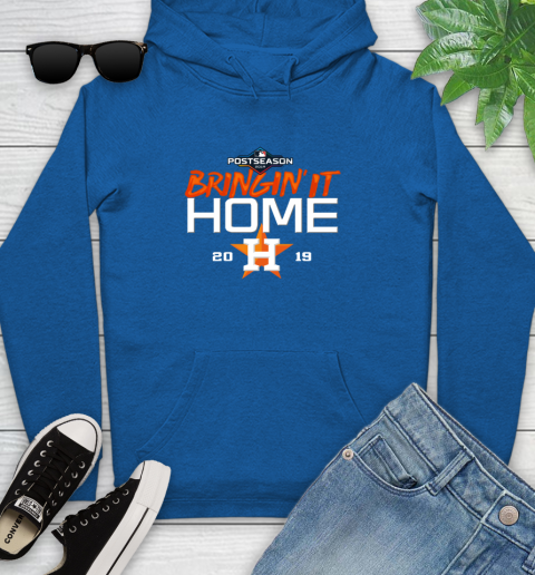 Bringing It Home Astros Youth Hoodie 11