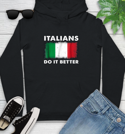 Italians Do It Better Youth Hoodie 1