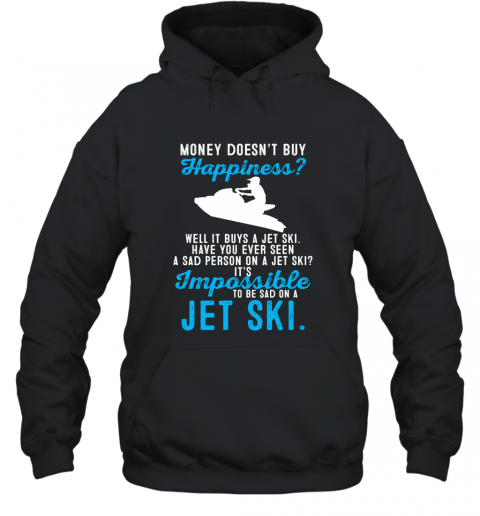 Funny Jet Ski Rider T Shirt For Men Women Kids Hooded