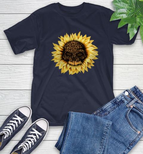 Sunflower Skull Panther T-Shirt 4