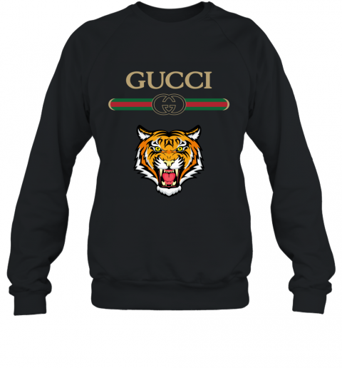 Gucci Logo With Tiger Sweatshirt