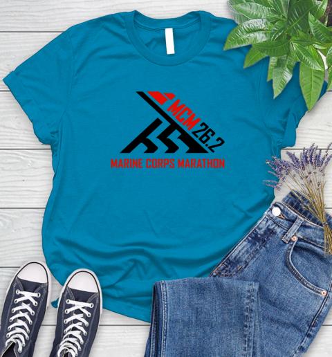 2018 Marine Corps Marathon Women's T-Shirt 5
