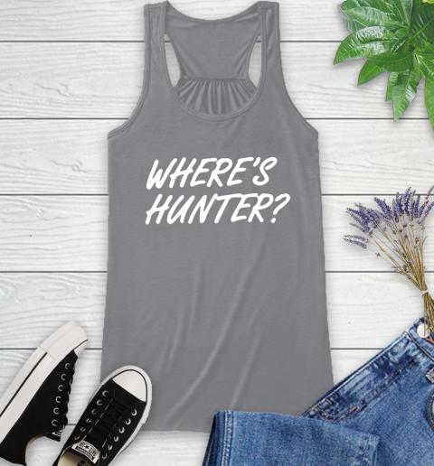 Where Is Hunter Racerback Tank 4