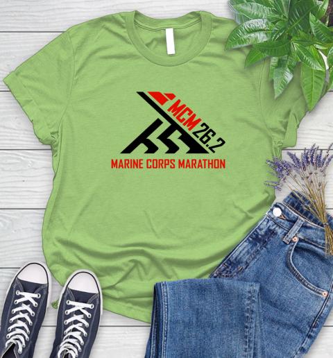 2018 Marine Corps Marathon Women's T-Shirt 7