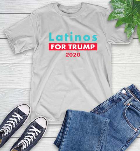 Latinos Trump 2020 T-Shirt 13