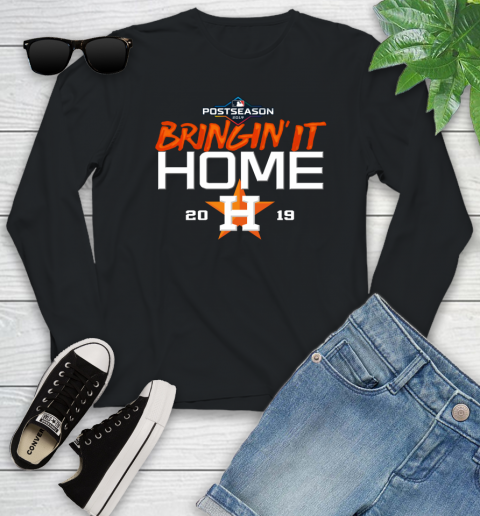 Bringing It Home Astros Youth Long Sleeve 1