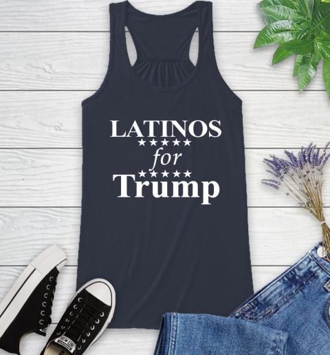 Latinos For Trump Racerback Tank 10