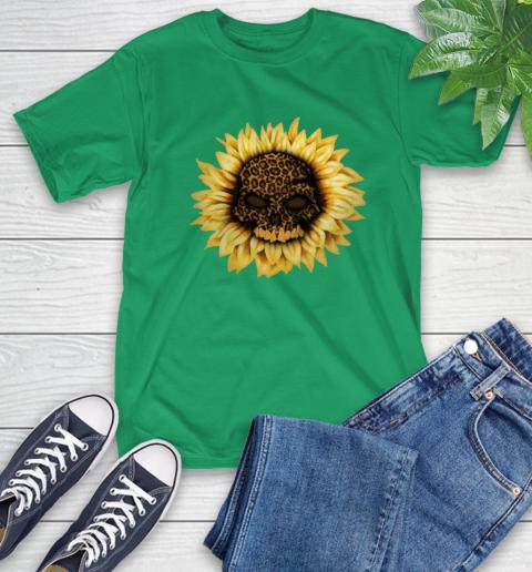 Sunflower Skull Panther T-Shirt 7