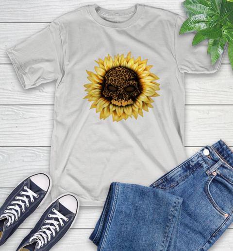 Sunflower Skull Panther T-Shirt