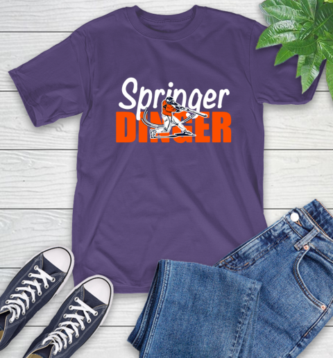 Houston Springer Dinger Fan Shirt T-Shirt 5