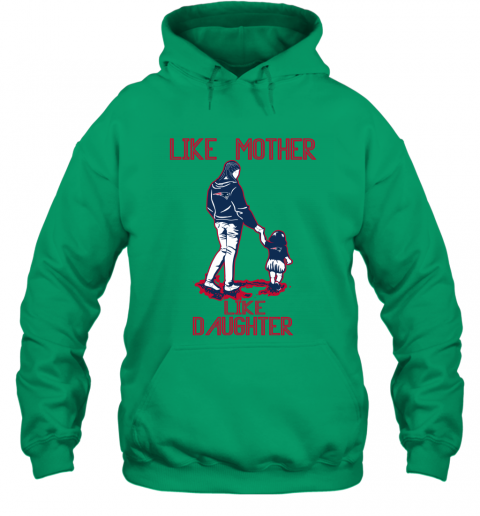 new styles 4e4dc 0bcd5 Like Mother Like Daughter New England Patriots Best Mother's Day Gift  Family Matching Hooded Sweatshirt