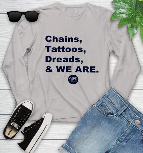 Penn State Chains Tattoos Dreads And We Are Youth Long Sleeve 9