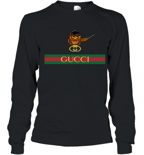 Gucci Logo Owl Premium Youth Long Sleeve T-Shirt