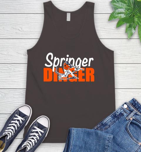 Houston Springer Dinger Fan Shirt Tank Top 6