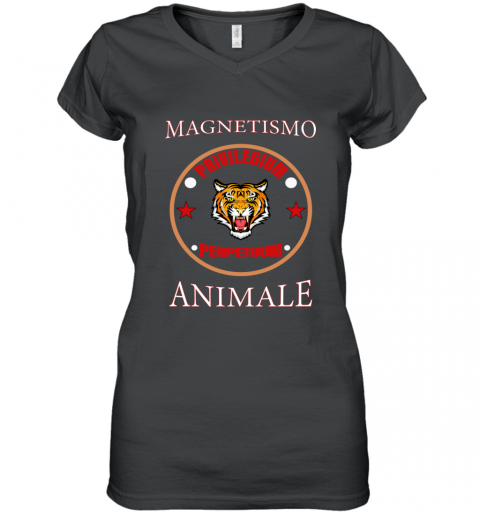 Gucci Magnetismo Animale Women's V-Neck T-Shirt