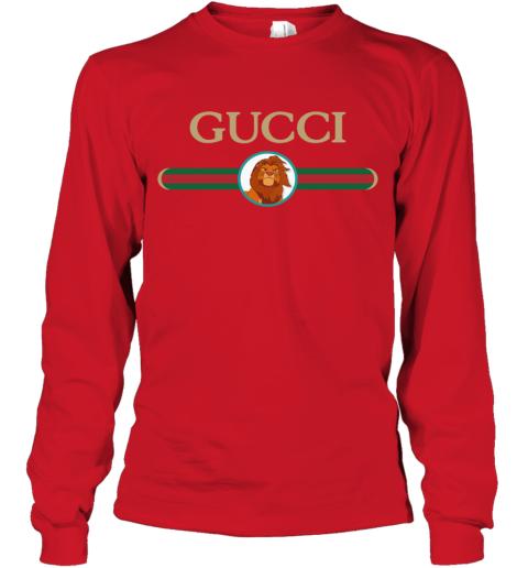 Lion King Simba Gucci Long Sleeve T-Shirt