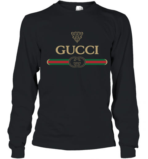Gucci Vintage Logo Youth Long Sleeve T-Shirt