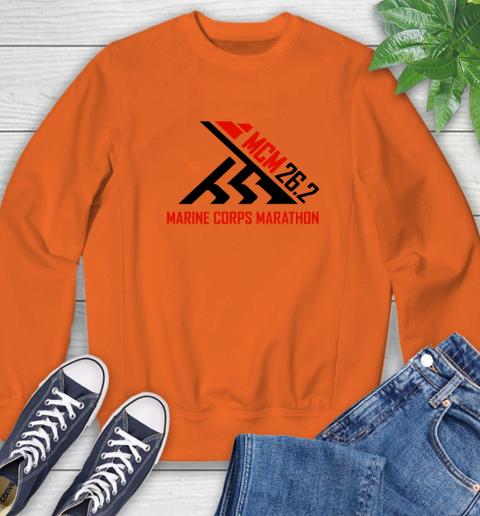 2018 Marine Corps Marathon Sweatshirt 2