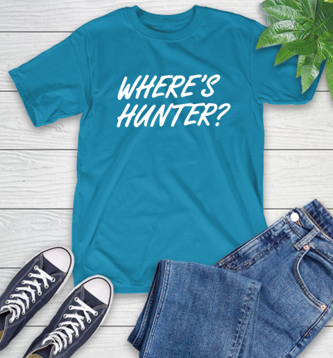 Where Is Hunter T-Shirt 9
