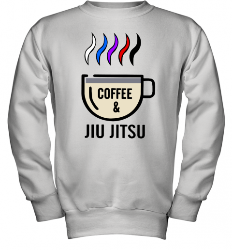 Coffee And Jiu Jitsu Youth Sweatshirt