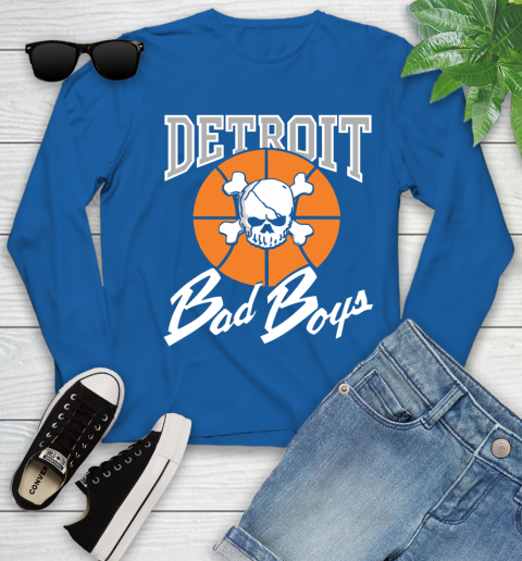 Detroit Bad Boys Youth Long Sleeve 10