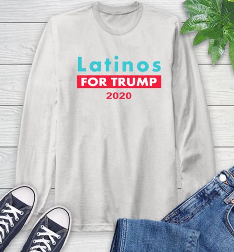 Latinos Trump 2020 Long Sleeve T-Shirt