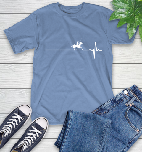 Polo Horse This Is How My Heart Beats T-Shirt 12