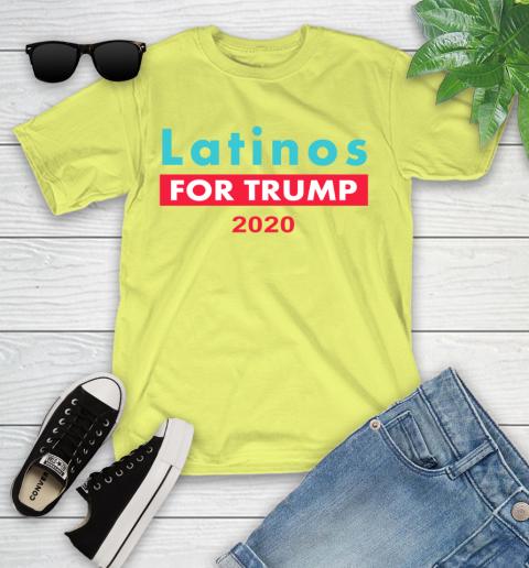 Latinos Trump 2020 Youth T-Shirt 8