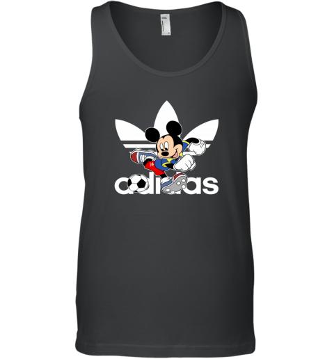 Adidas Logo Football Mickey Mouse Disney Tank Top
