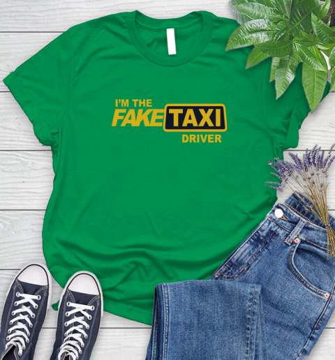 I am the Fake taxi driver Women's T-Shirt 6
