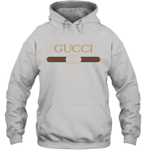 Gucci Shirt Logo Hoodie
