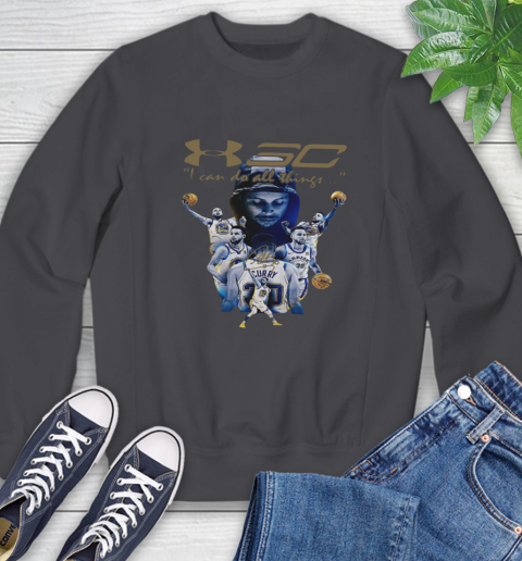 Stephen Curry I Can Do All Things Signature Sweatshirt 6