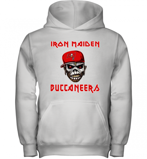 NFL Tampa Bay Buccaneers Iron Maiden Rock Band Music Football Sports Youth Hoodie