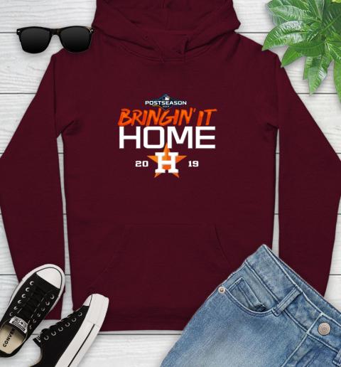 Bringing It Home Astros Youth Hoodie 7