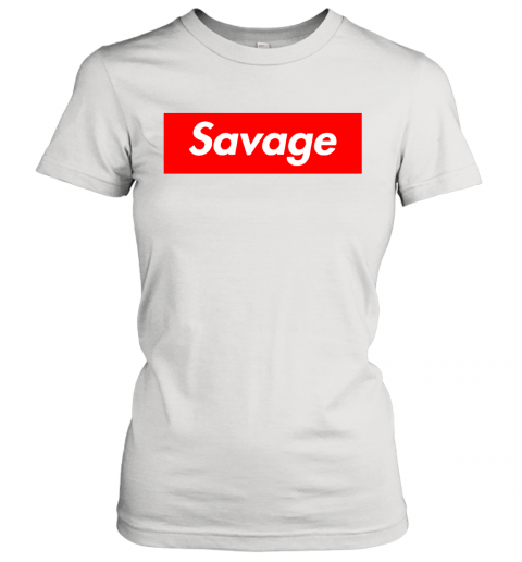 Savage in the box Women's T-Shirt