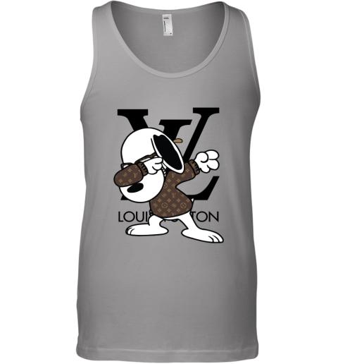 SNOOPY GUCCI x LOUIS VUITTON LOGO Tank Top