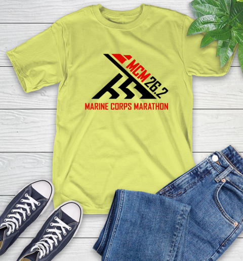 2018 Marine Corps Marathon T-Shirt 8