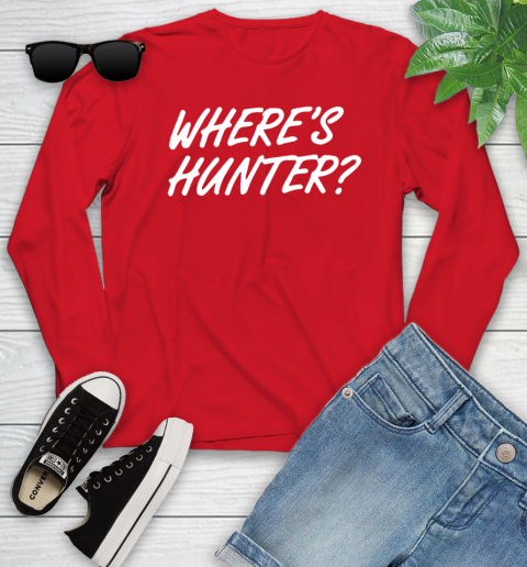 Where Is Hunter Youth Long Sleeve 11