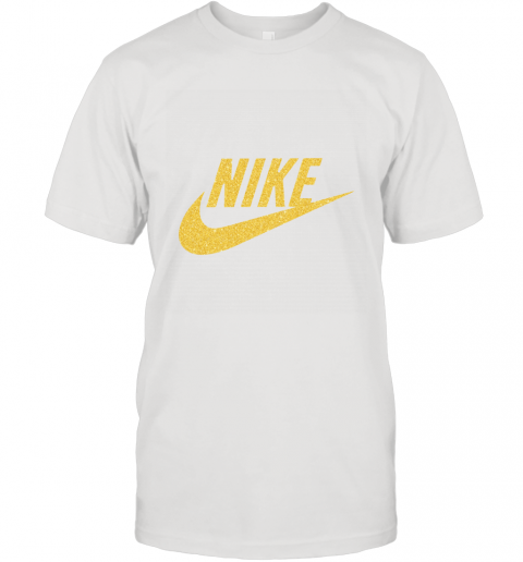 Rose Gold Nike  Logo T-Shirt