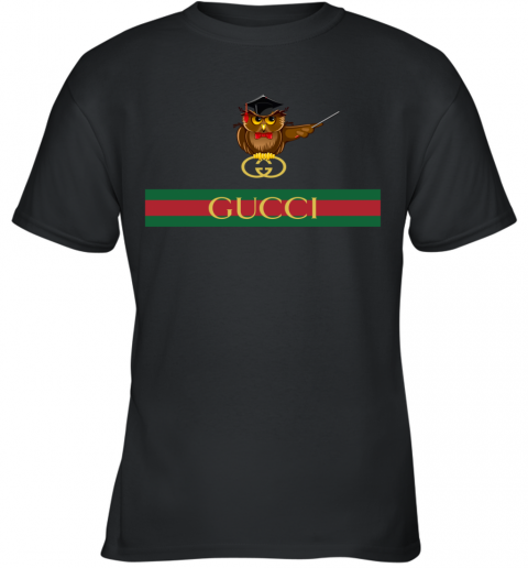 Gucci Logo Owl Premium Youth T-Shirt