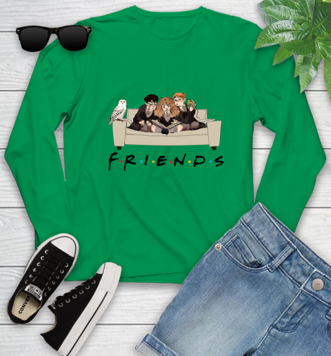 Harry Potter Ron And Hermione Friends Shirt Youth Long Sleeve 4