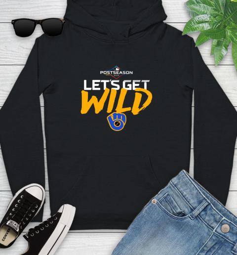 Brewers Wild Card Youth Hoodie