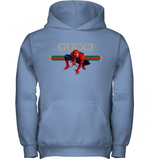 Gucci Logo Spiderman Youth Hoodie
