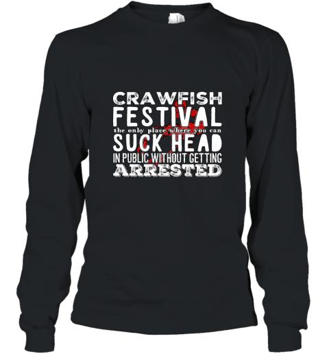 Funny Crawfish boil festival T shirt Long Sleeve