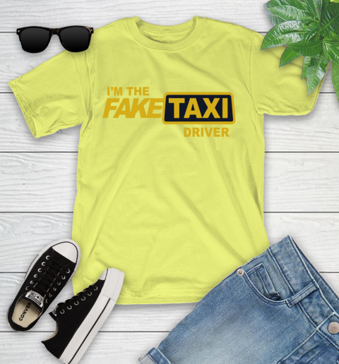 I am the Fake taxi driver Youth T-Shirt 8