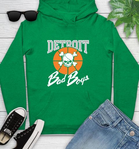 Detroit Bad Boys Youth Hoodie 9