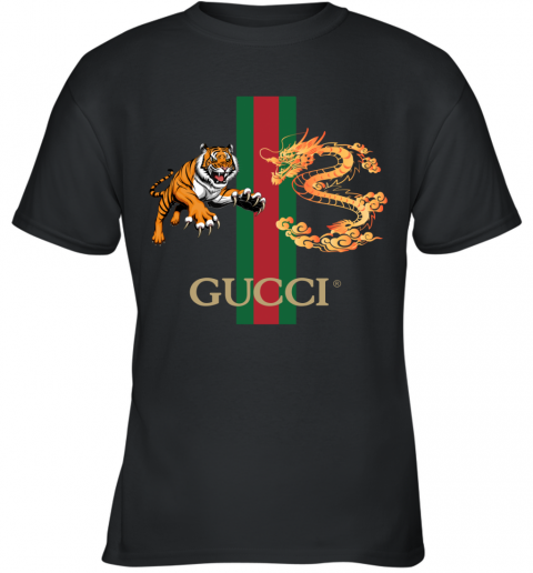 Gucci Tiger x Goden Dragon Design Youth T-Shirt